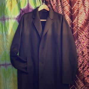Theory cashmere topcoat